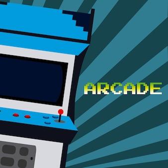 Arcade video game vintage