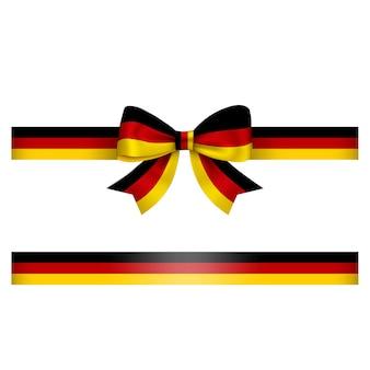 Arco e fita alemães