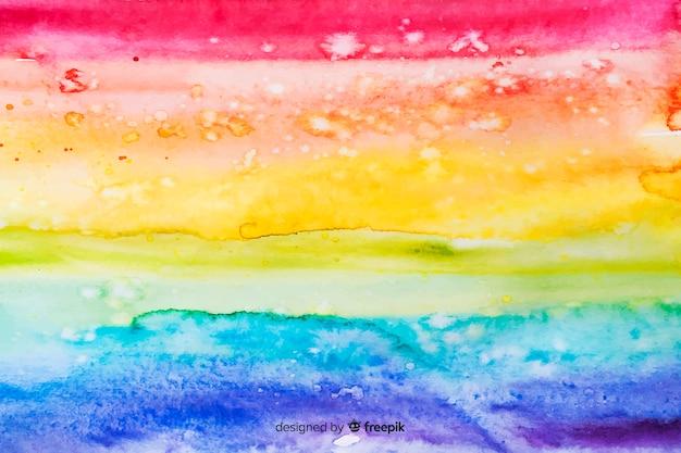 Arco-íris de estilo tie-dye de fundo
