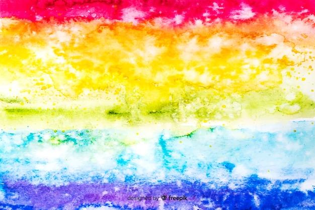 Arco-íris de fundo no estilo tie-dye