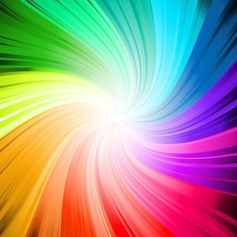 Arco-íris fundo do redemoinho colorido