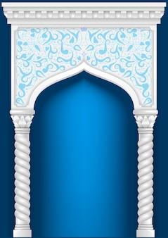 Arco oriental de fada