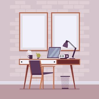 Área de trabalho da sala de estúdio