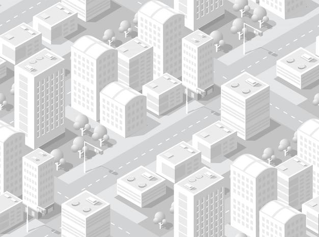 Área isométrica urbana
