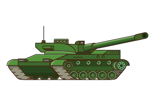 Arma do tanque militar