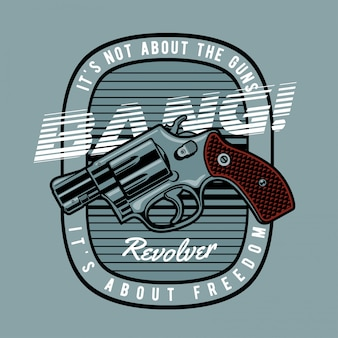 Arma revólver