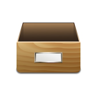 Armário de arquivos para documentos.
