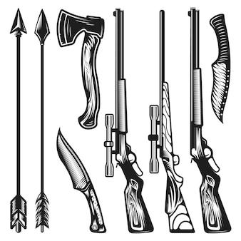 Armas de caça vintage