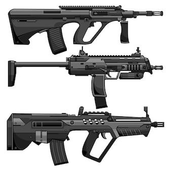 Armas modernas do exército