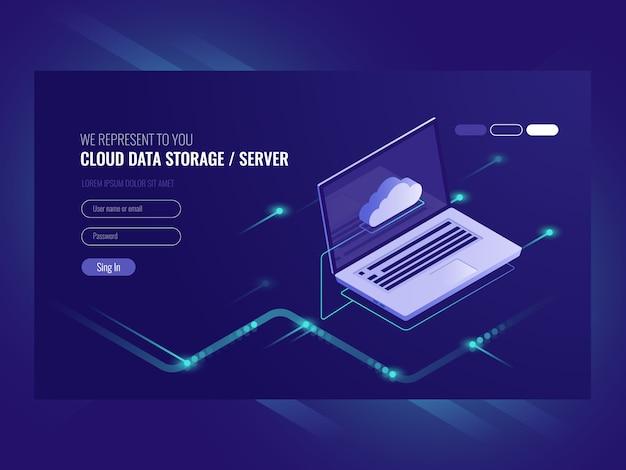 Armazenamento de dados em nuvem, acesso remoto a dados, serviços de cópia de backup