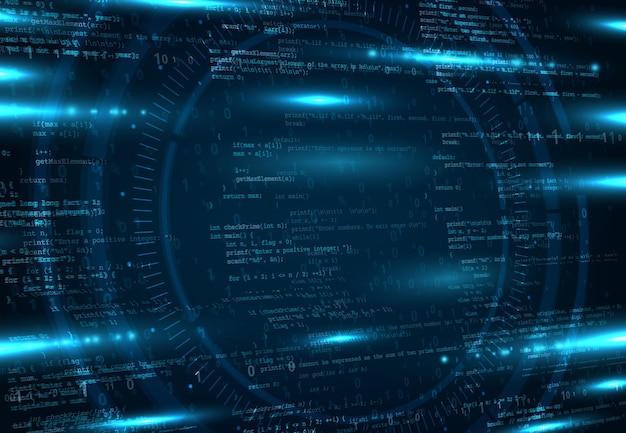 Armazenamento de rede em nuvem e plano de fundo de programação