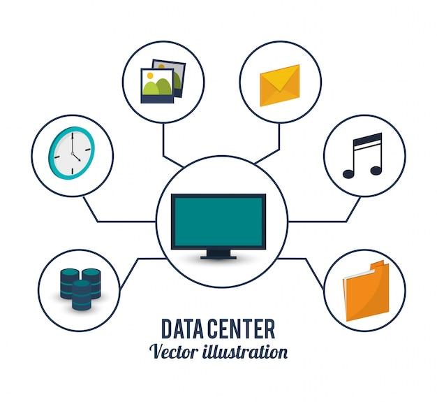 Armazenamento do serviço de computador do centro de dados