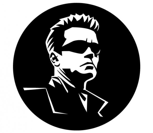 Arnold schwarzenegger imagem vetorial