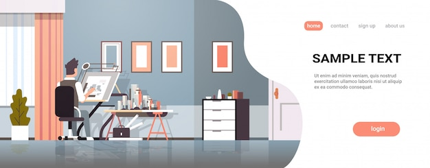Arquiteto, desenho, planta, urbano, predios, plano, ligado, tábua ajustável, panning, projeto, conceito, engenheiro