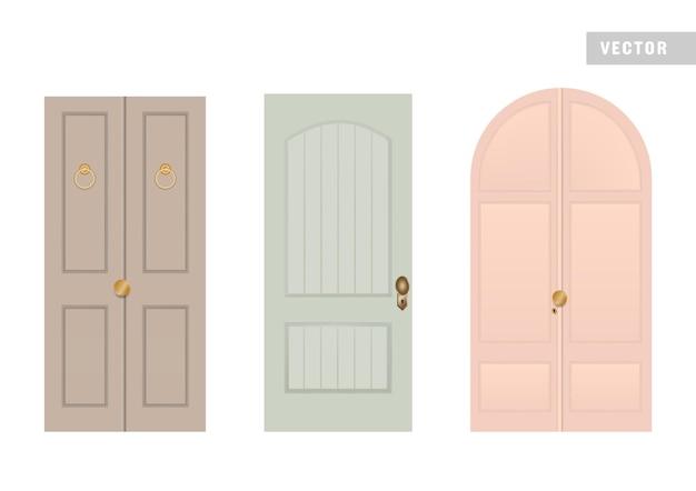 Arquitetura de casa de design de portas