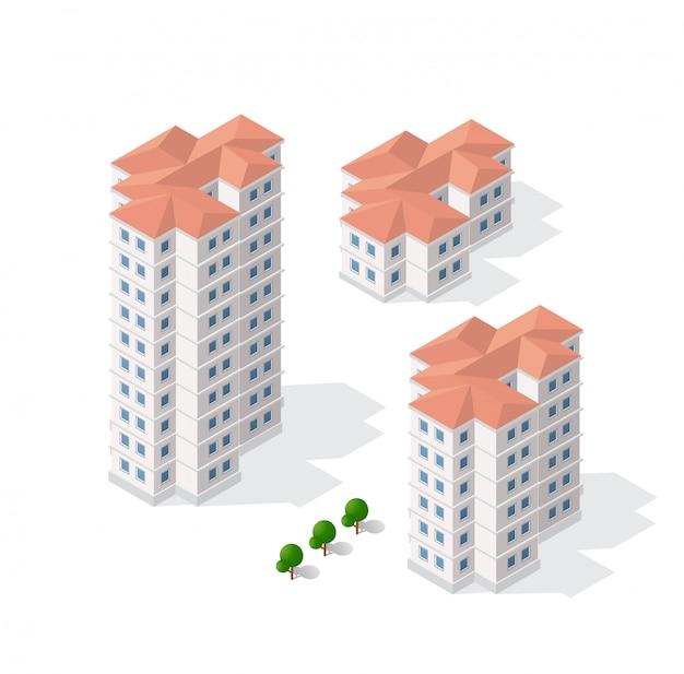 Arquitetura de construção urbana