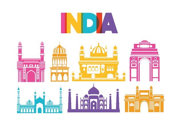 Arquitetura indiana de templos