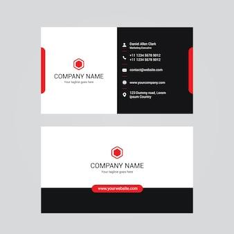 Arquivo de cartão vermelho e preto