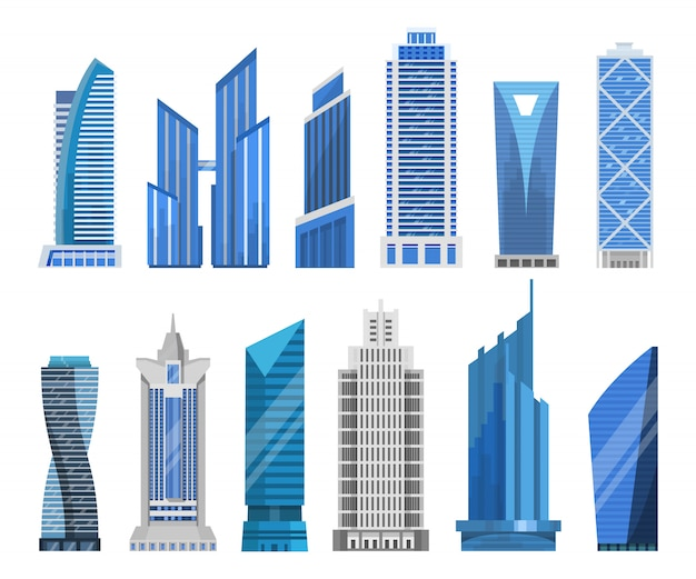 Arranha-céus de edifícios