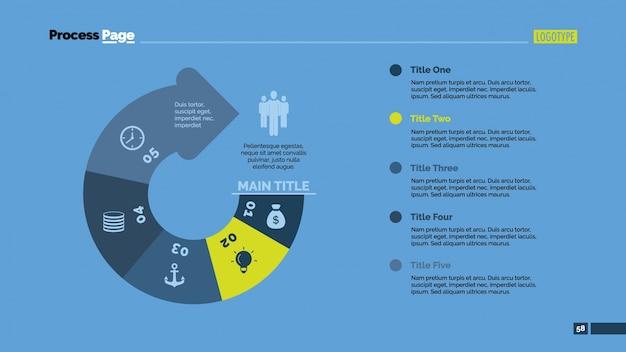 Arrow design infográfico