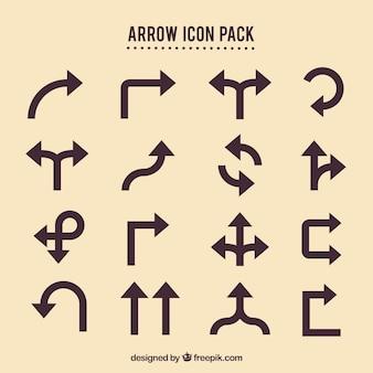 Arrow ícones embalar