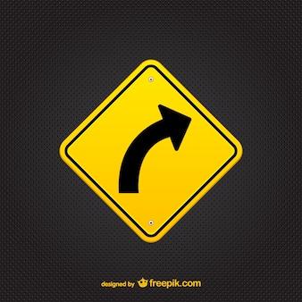 Arrow sinal vetor