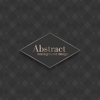 Art deco padrão sem emenda com elementos geométricos