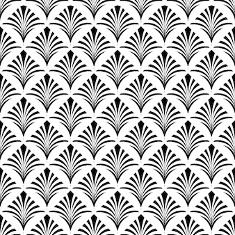 Art deco seamless pattern texture fundo decorativo