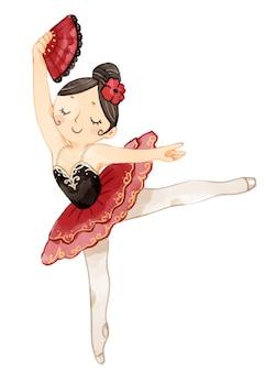 Arte da parede da bailarina, decoração do quarto das meninas, impressão da bailarina, arte da parede do berçário do bebê, arte da bailarina, presente de aniversário para as meninas, cartaz do balé