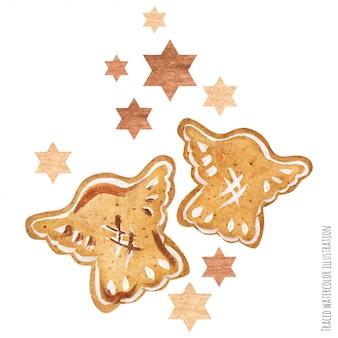 Arte de biscoito de gengibre