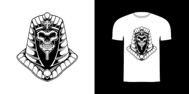Arte de linha anubis para design de camisetas
