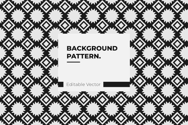 Arte de padrão geométrico asteca decoração de ornamento tribal tradicional - textura de desenho abstrato padrão