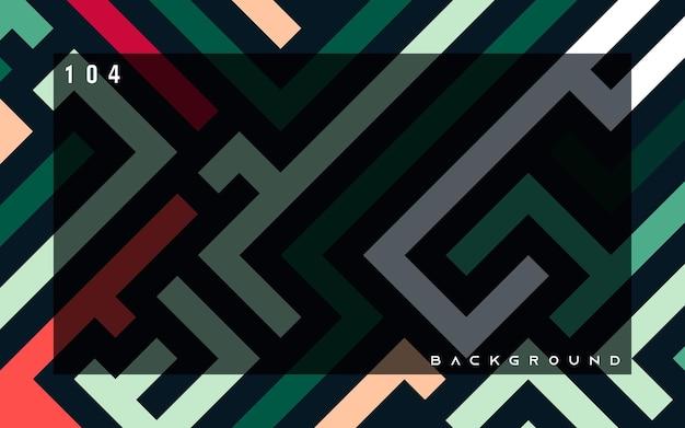 Arte de pixel de fundo colorido abstrato