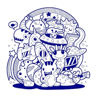 Arte do doodle