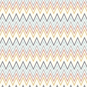 Arte escandinava estilo com padrão chevron