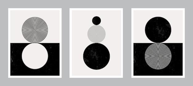 Arte moderna do poster para impressão. arte abstrata da parede. arte digital de decoração de interiores.