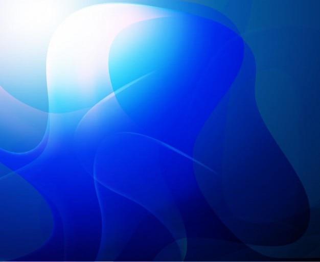 Arte vetorial abstrato azul