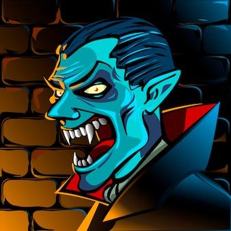 Arte vetorial de drácula pint de clip art de halloween transilvany