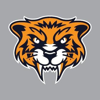 Arte vetorial de tigres