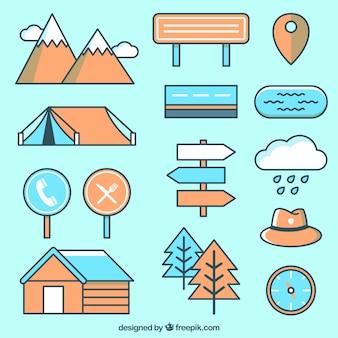Artigos bonitos para construir um mapa
