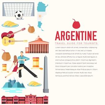 Artigos de férias para viagens da argentina