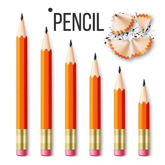 Artigos de papelaria do lápis