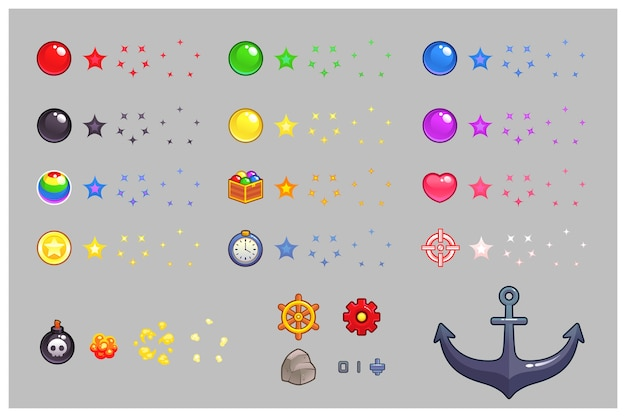 Artigos diversos game sprites