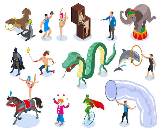 Artistas e conjunto de ícones de entretenimento