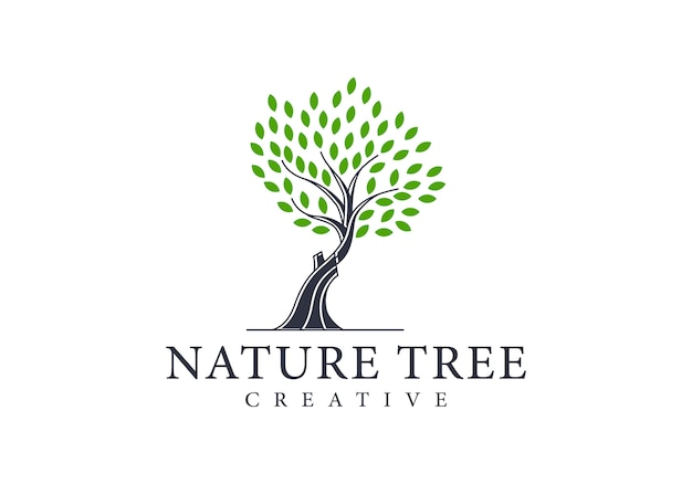 Árvore de logotipo exclusivo