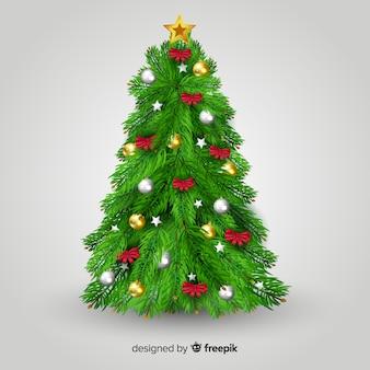 Árvore de natal realista