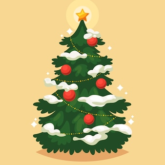 Árvore de natal vintage