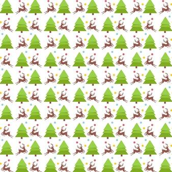 Árvore de padrão de natal