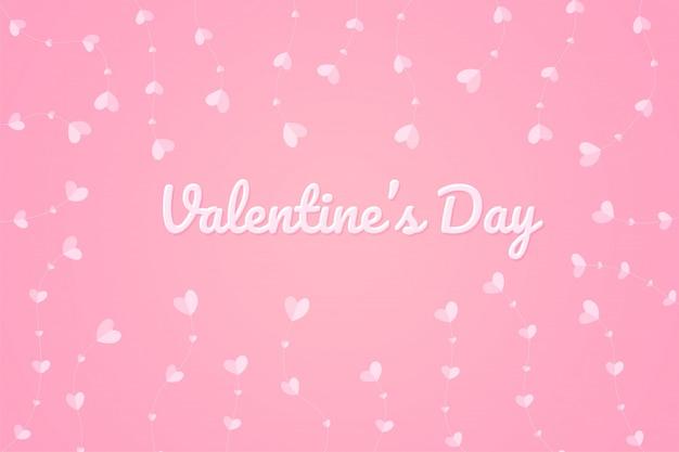Árvore do coração no dia do amor. a árvore do amor que cresce no dia dos namorados.