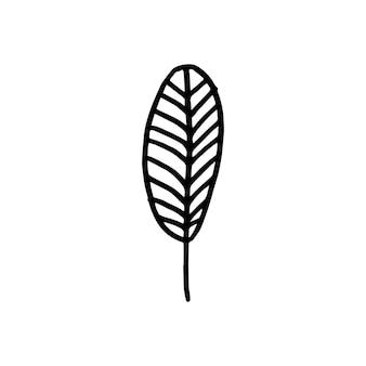 Árvore geométrica nórdica. elemento simples de vetor em estilo escandinavo moderno